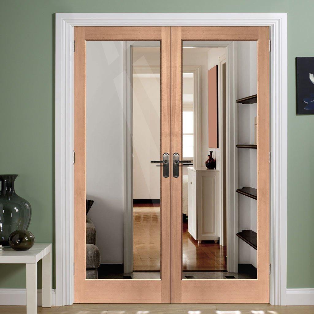 Interior Mahogany Doors With Diamond Cut Glass
