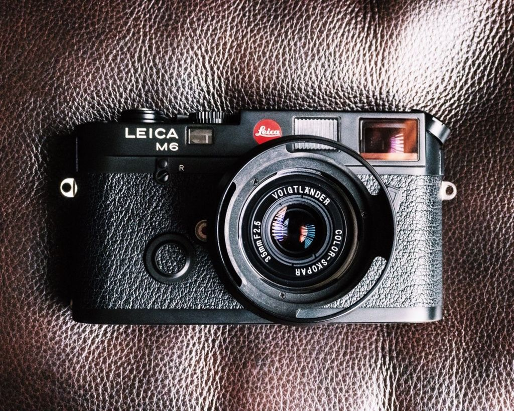 I think we've been a little obsessed with #Leica lately