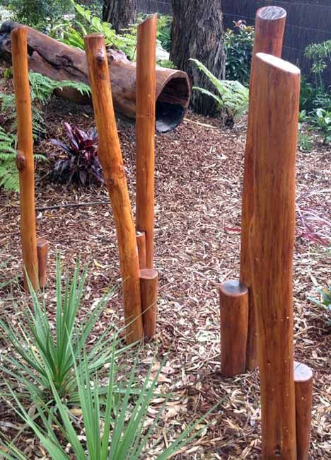 Recycled Timber Stilts