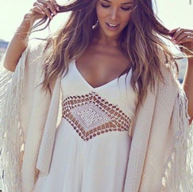 Lovestitch perla crochet dress