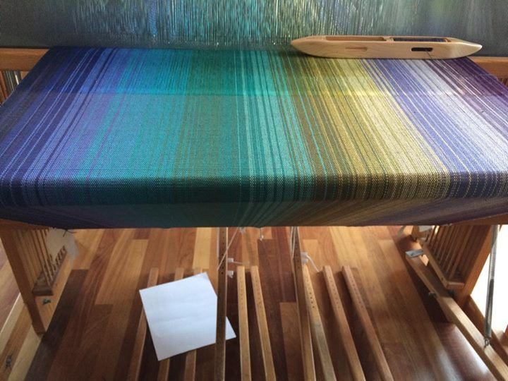 Gradient warp, posted on Facebook by Amanda Sparks Drost