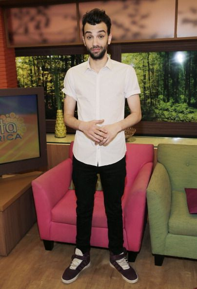 Jay Baruchel promoting 'How to Train Your Dragon 2.' Styled by Karla Welch. Grooming by Kim Verbeck.