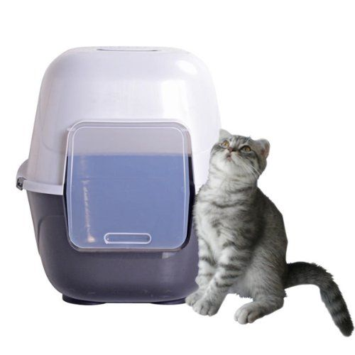 Favorite 174 24 Inch Cat Litter Box Extra Large Grey Jumbo