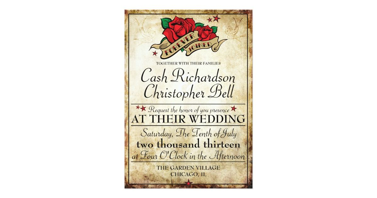 A great wedding invitation for all you offbeat brides and non ...