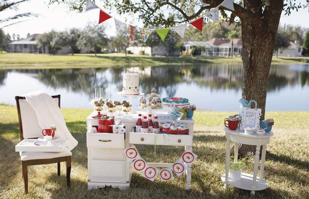 Hostess with the Mostess® - Gingerbread House Decorating Party