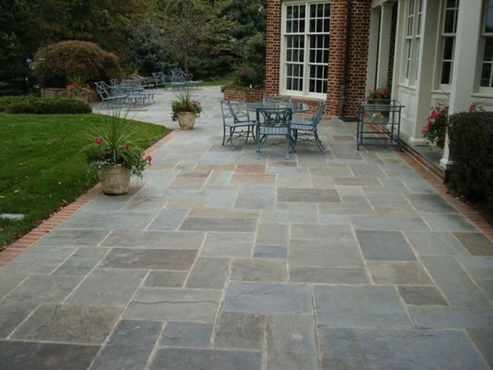 Flagstone Walkway And Patio Design Reston VA   Steadfast Construction