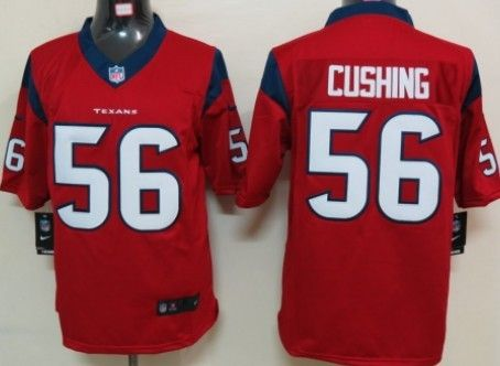 Nike Houston Texans #56 Brian Cushing Red Limited Jersey