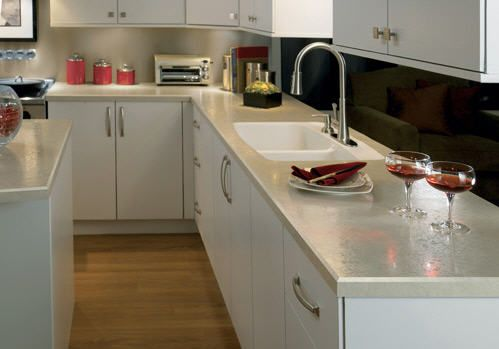 Integrated Sinks Add Luxury To Laminate Tops