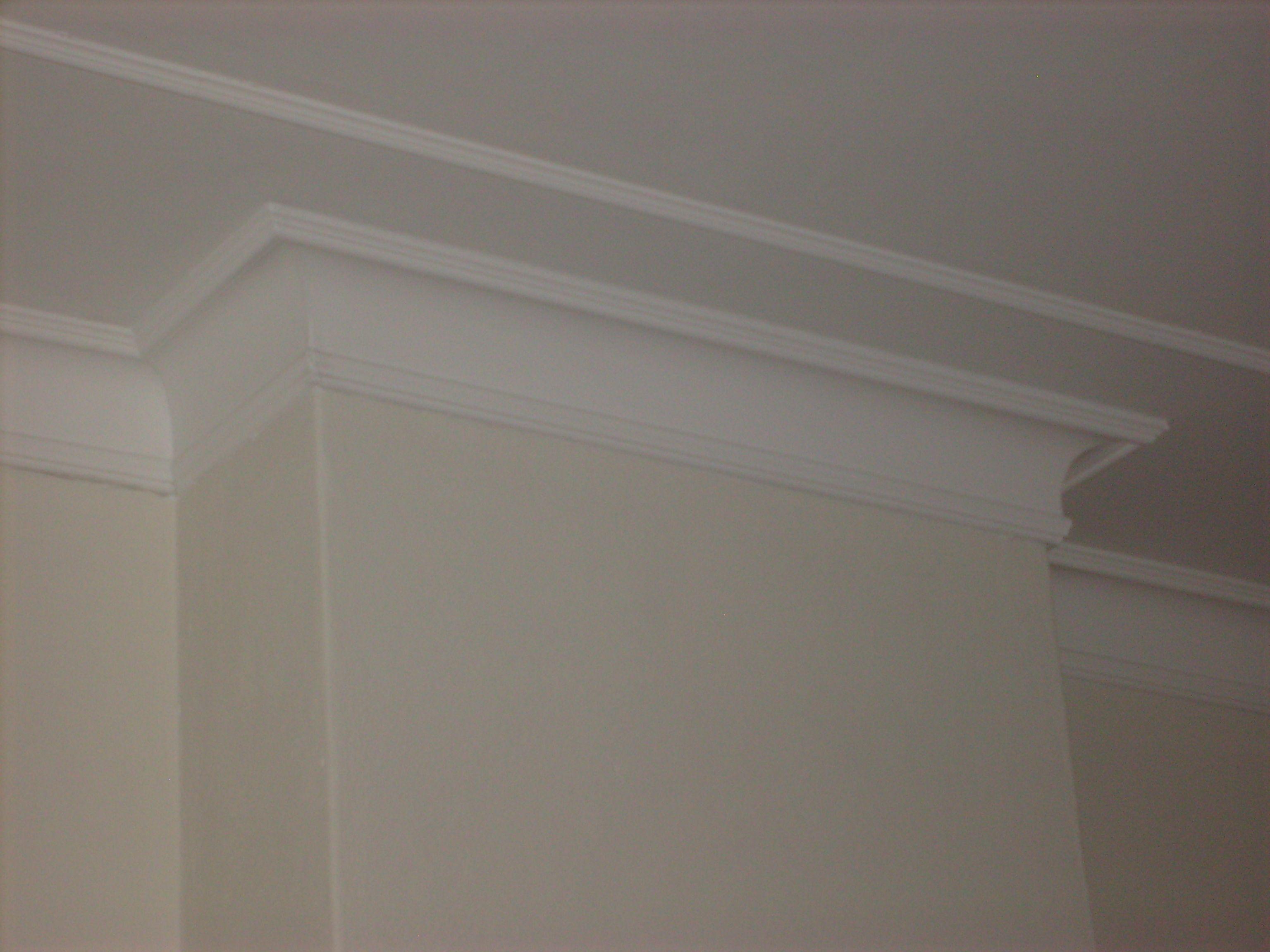 Indien kostentechnisch mogelijk sierranden langs de for Plafond sierlijst
