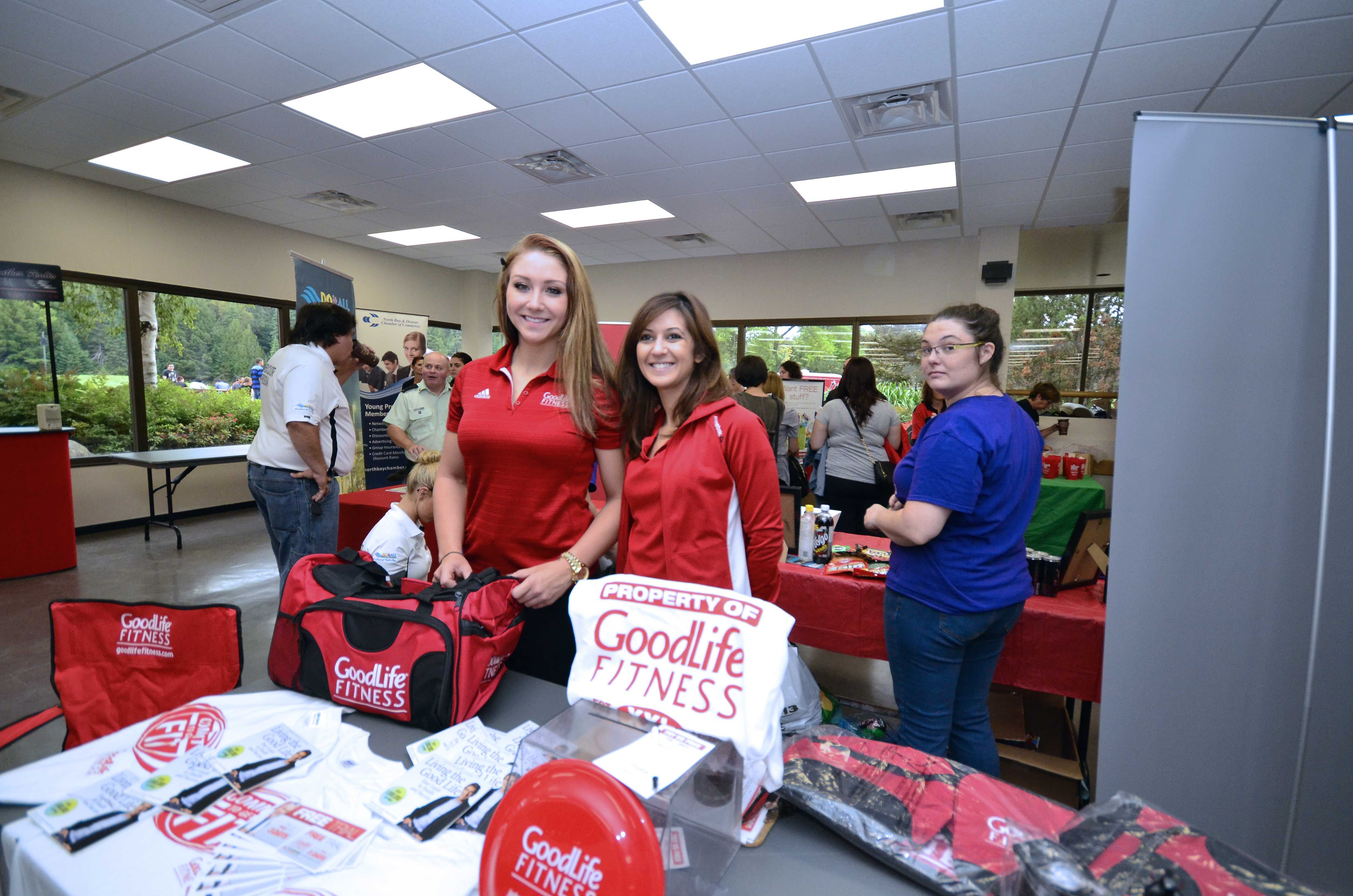 Goodlife Fitness Downtown North Bay Was On Hand To Promote