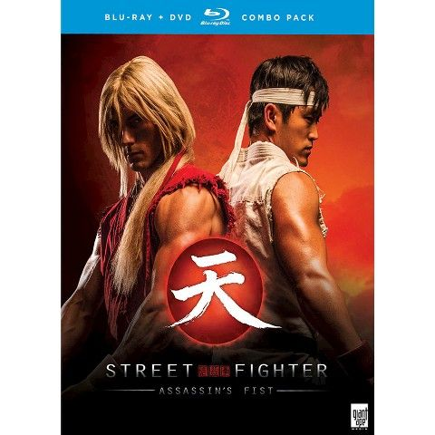 Street Fighter Assassin S Fist Blu Ray Street Fighter Assassin Movies Live Action