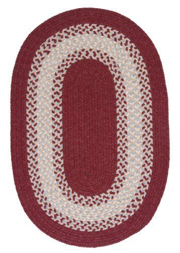 Colonial Mills North Ridge NG79 Berry 2' x 8' Oval by Colonial Mills. $149.00. A sophisticated palette of colors creates an inviting and smart look in this wool-blend braided rug.