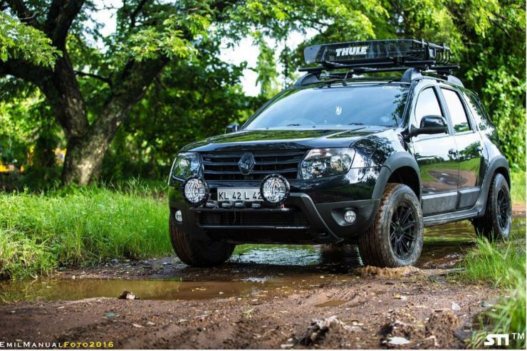 Modified Black Renault Duster In Ernakulam Engine Remap Carros