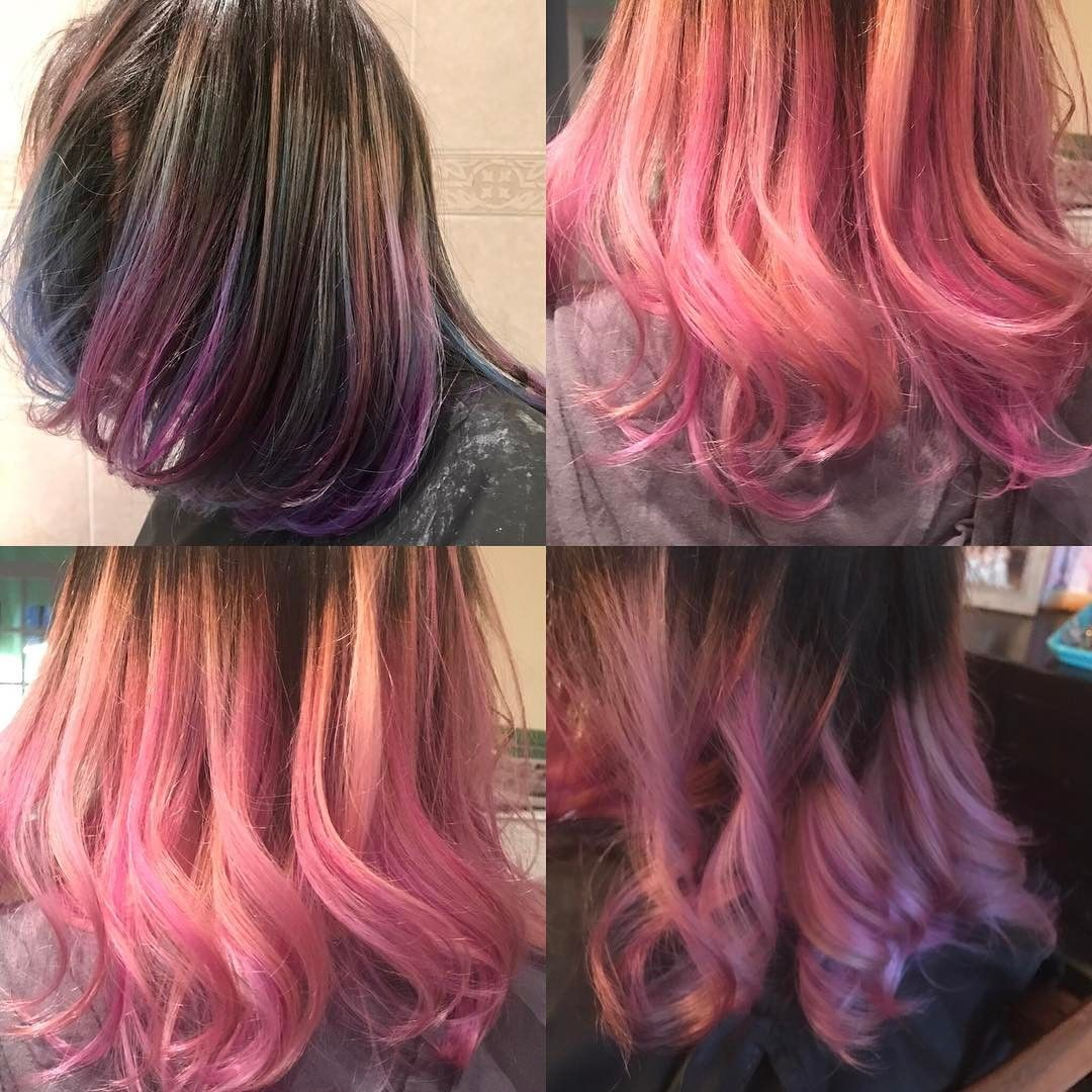 Top Left Before Hair Color By Me Haircolor Colorbalance
