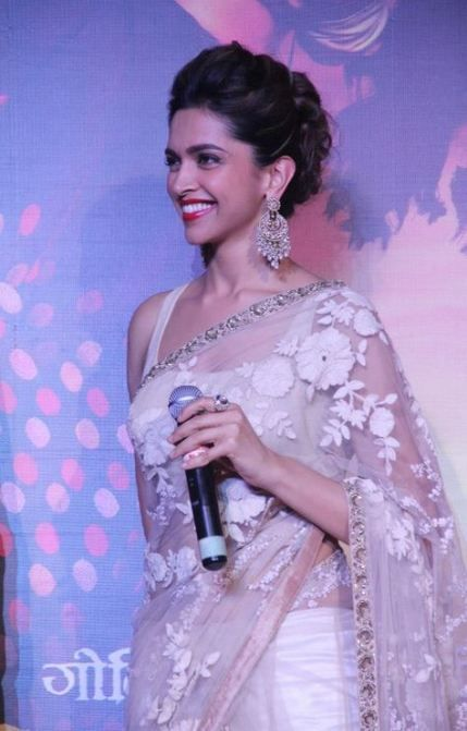 25 Ideas Hair Bun For Saree Deepika Padukone #hair in 2020 ...