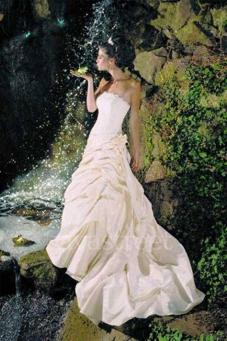 Ellis Bridal 11032 Blue Bayou Princess Tiana Wedding Photoshoot