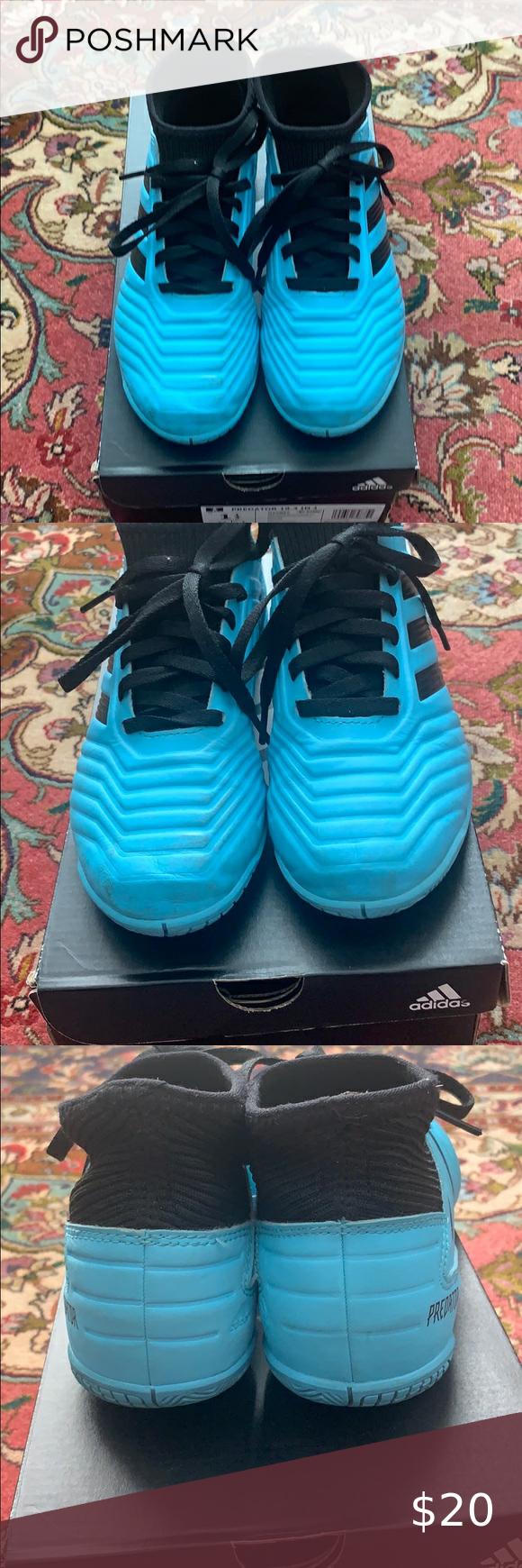 Adidas Predator 19 3 In J Kids Indoor Soccer Shoes In 2020 Soccer Shoes Me Too Shoes Shoes