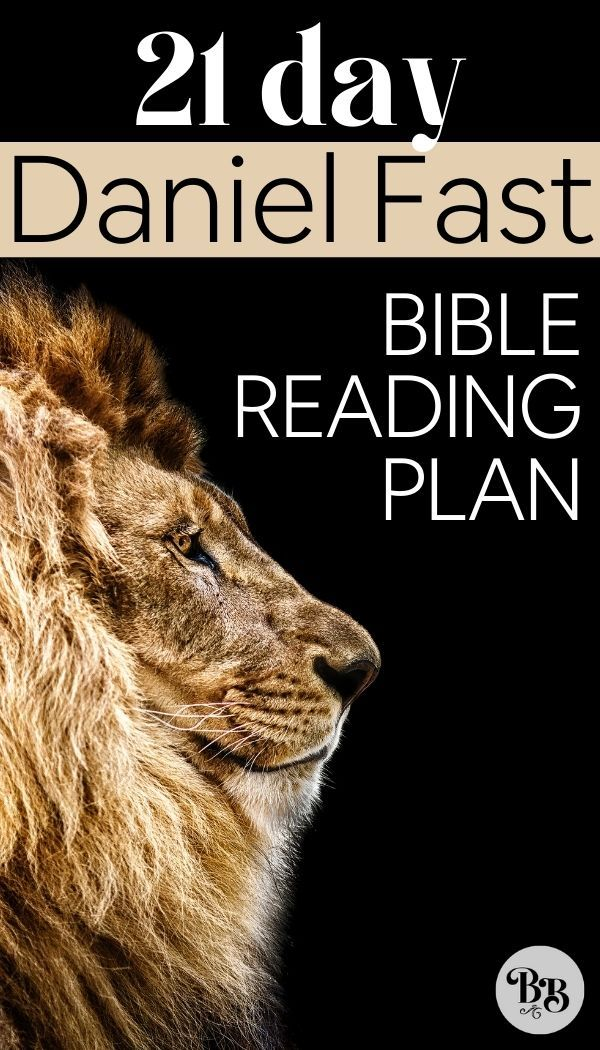 DANIEL FAST BIBLE READING PLAN
