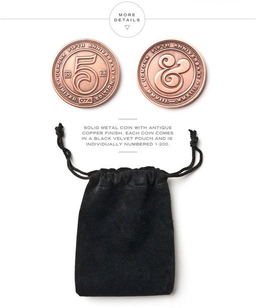 Ugmonk Limited Edition 5th Anniversary Set