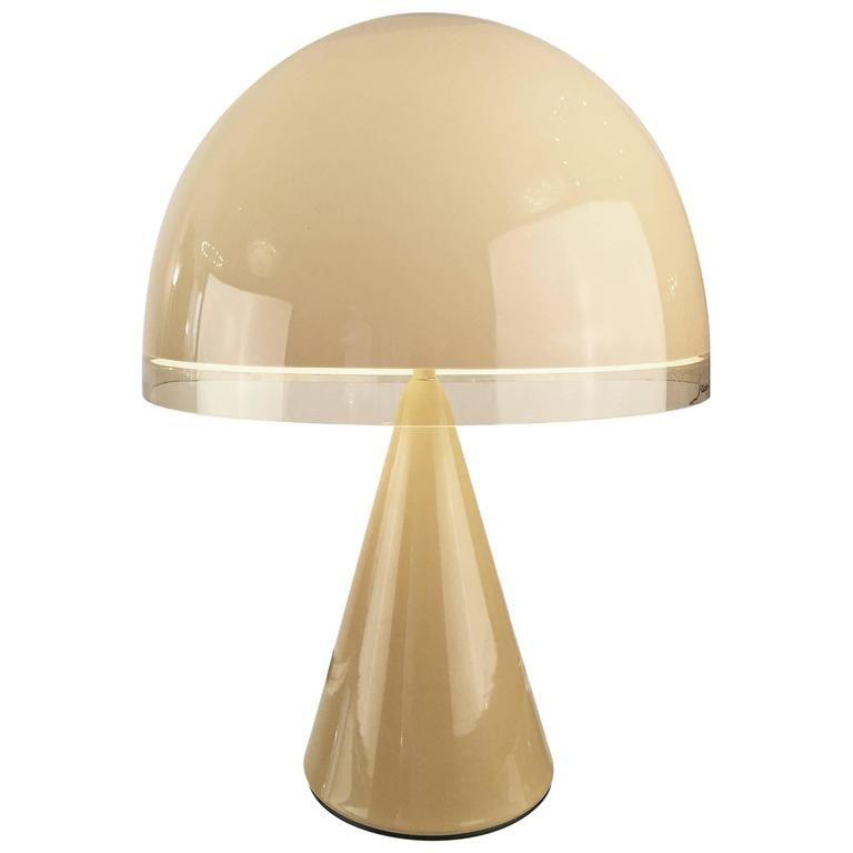 Harvey Guzzini Lamp Italian Space Age 1970s Lamp Unique Floor Lamps Italian Interior Design
