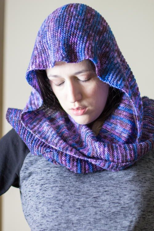 Winter Dreams Hooded Scarf   Free knitting, Knitting, Free ...