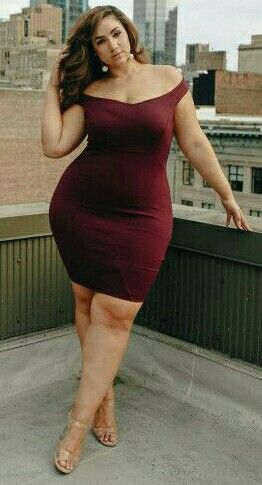 Bbw tight dress