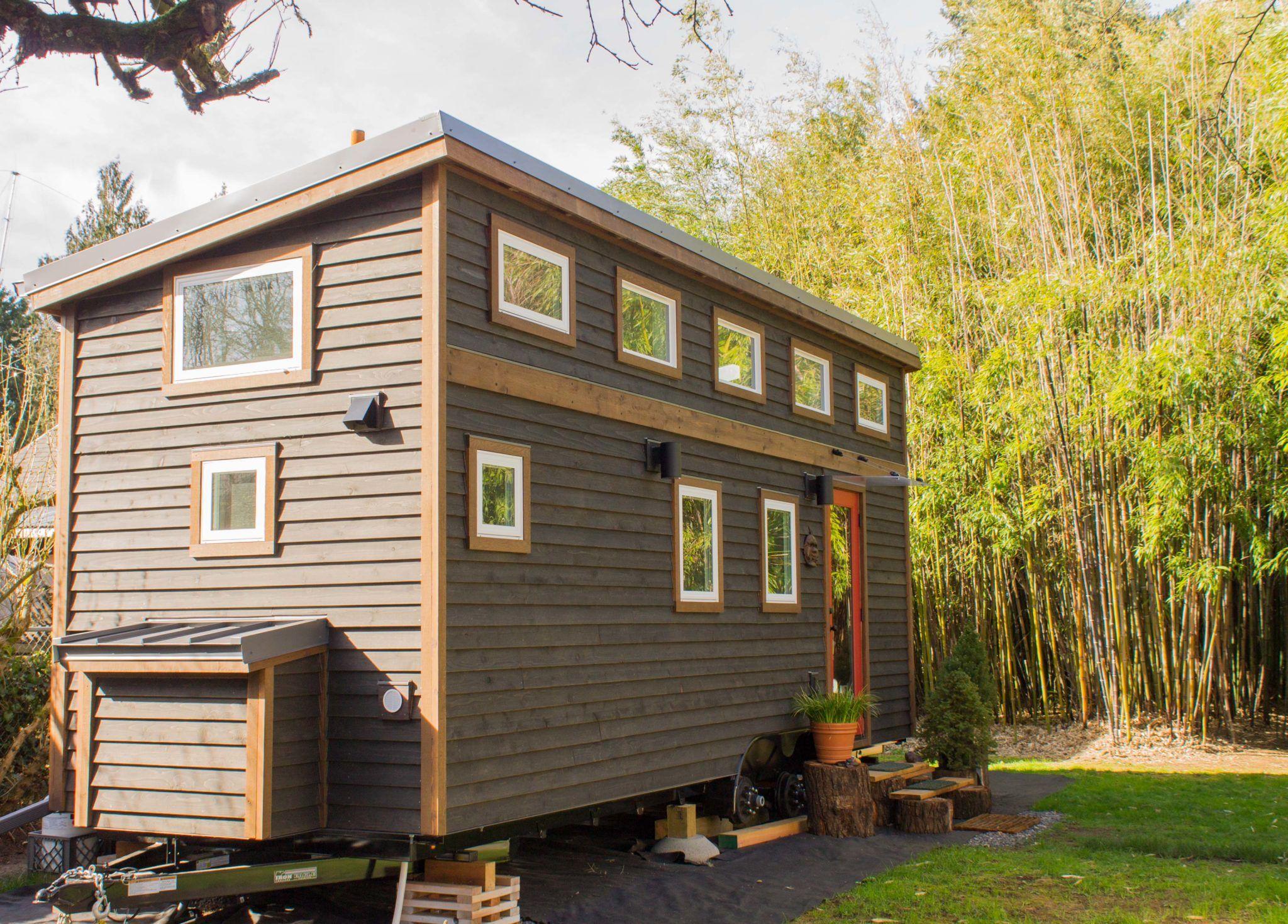The Hikari Box Tiny House Plans Tiny House Exterior