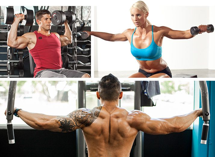 5 shoulder routines for 3 d definition shoulder routine routine from deep in the bodybuilding forums come 5 routines ranging from the reasonable to the terrifying your next shoulder day is locked and loaded malvernweather Gallery
