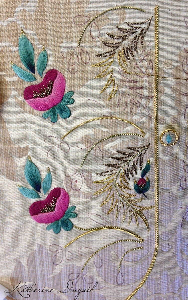 Katherine diuguid nakışembroidery pinterest embroidery and