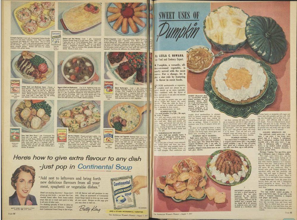 Australian Woman's Weekly 1957