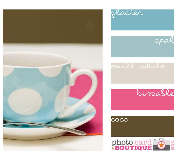 Colors That Go Together color inspiration. i like the way these light/pastel colors go
