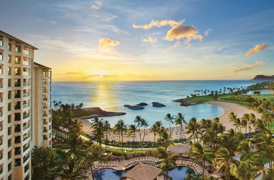 Marriott S Ko Olina Beach Club Ko Olina Oahu Vacation Beach Club Ocean View Villas