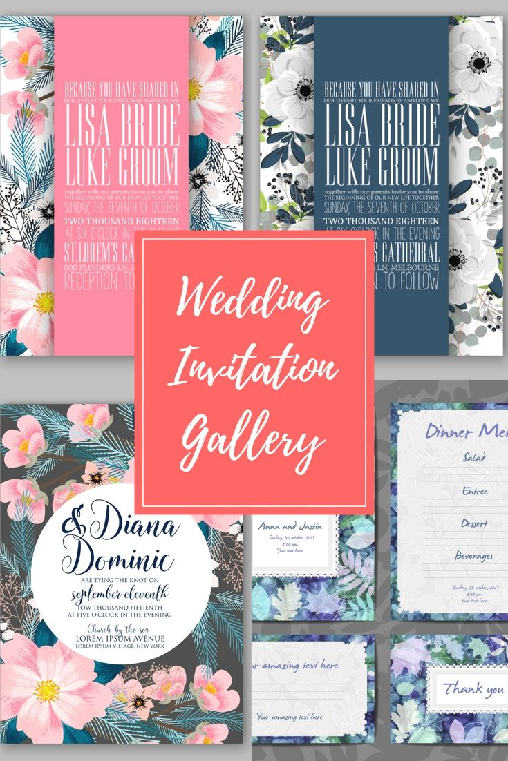 Top Wedding Invitation Inspirations - Explore Our Wedding Invitation ...