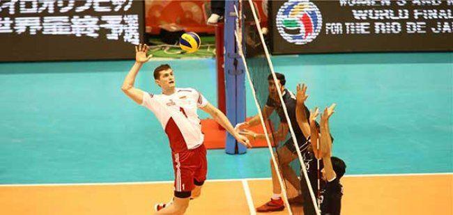 ایران ۲ - ۰ لهستان / تا المپیک ریو فقط چند لحظه...  http://1varzesh.com/volleyball/international/olympicqualification/japan2016/111495  @1Varzesh  تیم ملی والیبال ایران در ۲ ست نخست ششمین بازی خود در مسابقات انتخابی المپیک ۲۰۱۶ بر لهستان غلبه کرد.     تیم ملی والیبال ایران در سومین بازی از روز ششم مسابقات انتخابی المپیک 2016 ریو در حالی از ساعت 11:10 امروز (شنبه) مقابل لهستان قرار گرفت که شاگردان آنتیگا صعود خود به ریو را در بازی قبلی تثبیت کرده بودند. تیم ایران 2 ست نخست این د..