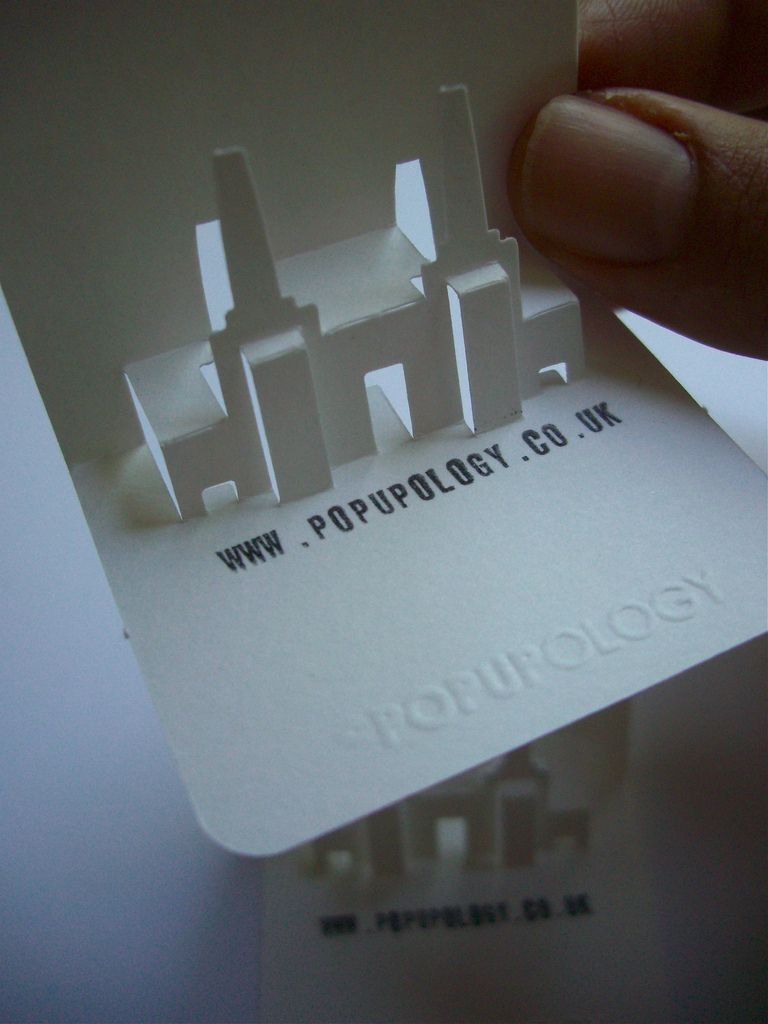 new 3-d business card series I - battersea | Battersea power station ...