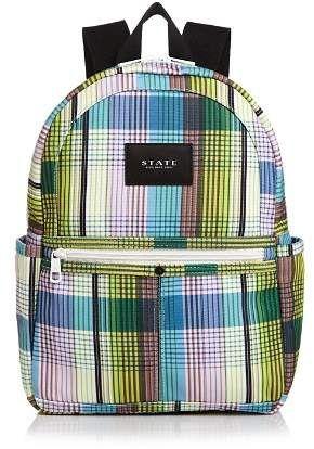 STATE Kane Mini Plaid Backpack Backpack Handbags f003f7461213c