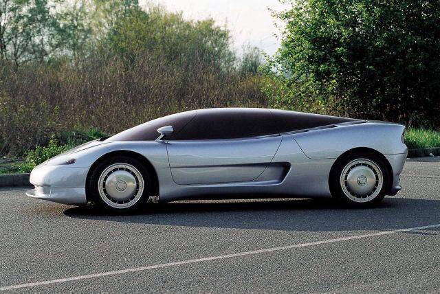 Bugatti Id90 1990 By Italdesign Giugiaro S Proposal For The Eb110 Supercar It Was Rejected In Favour Of Marcello Gandini S Design Concept Cars Bugatti Car