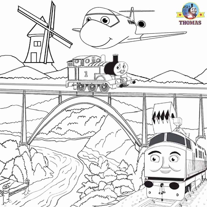 Thomas The Tank Engine Coloring Page Luxury Thomas Coloring Pages To Print And Color Kids In 2020 Train Coloring Pages Cartoon Coloring Pages Cool Coloring Pages