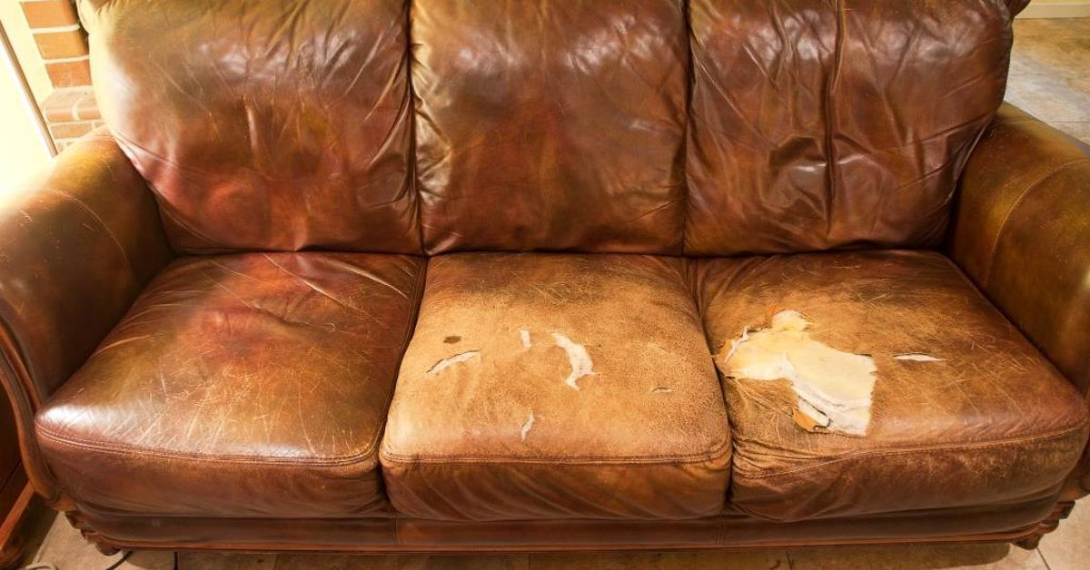 How To Repair Holes And Cracked Leather In A Couch Or Leather Furniture,  Easy Project You Can Do Yourself. Diy Leather Repair To Save Your Worn Lea