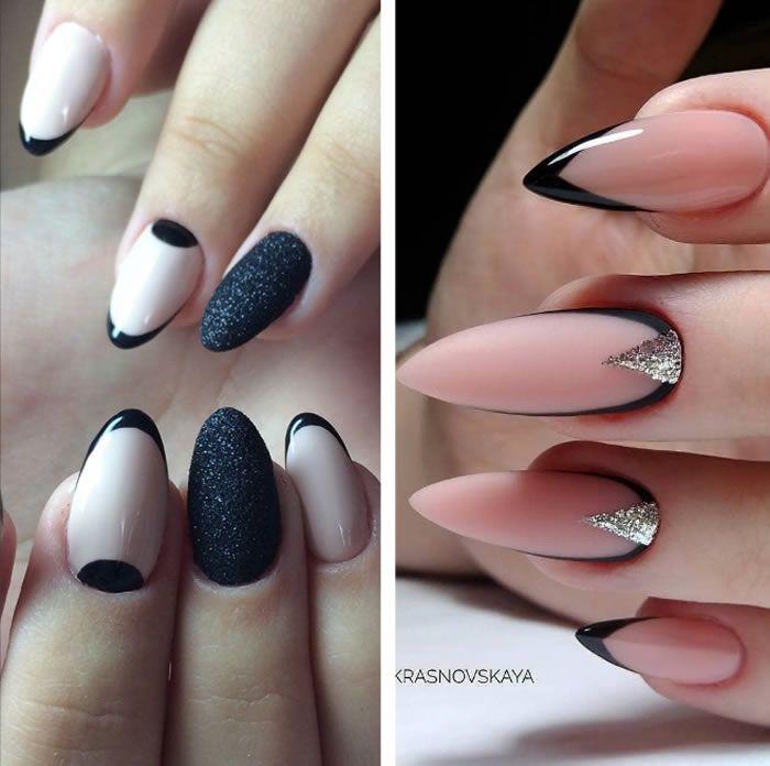 Manichiura frantuzeasca: tutoriale si idei de modele   Nails