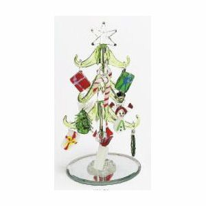 Mini Glass Christmas Tree Wornaments Christmas Stockings