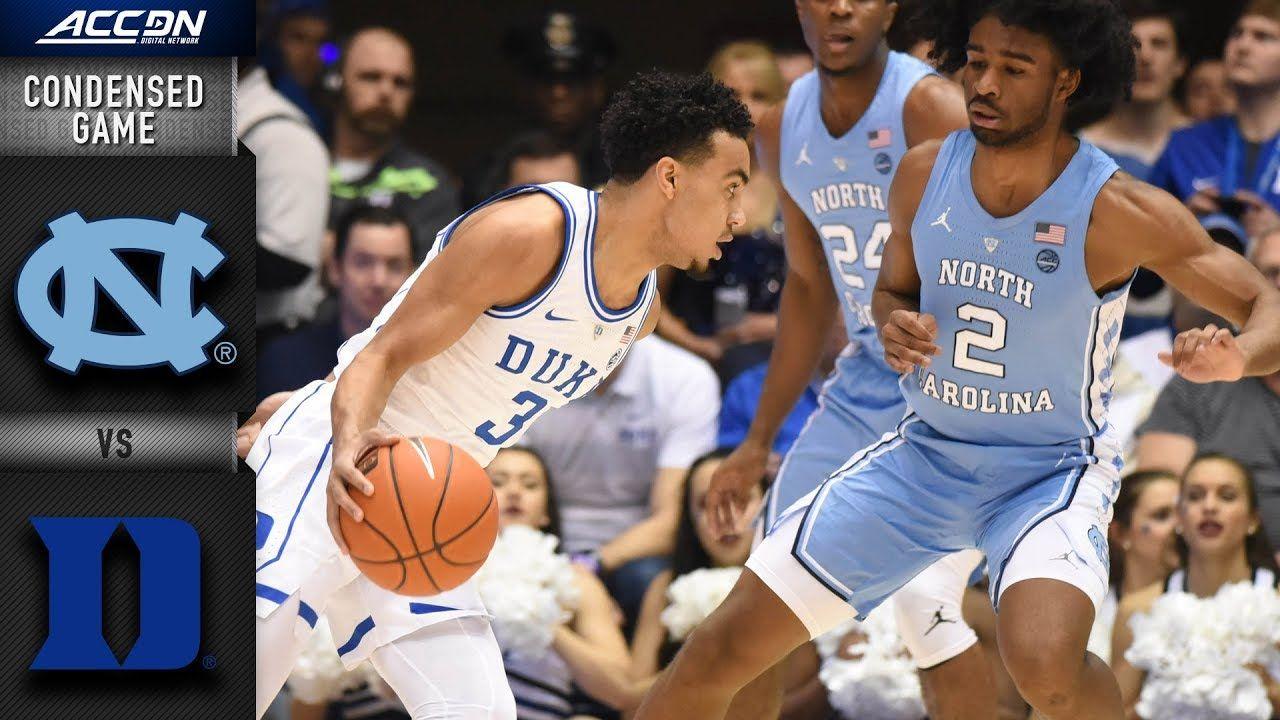 North Carolina vs. Duke Condensed Game 201819 ACC