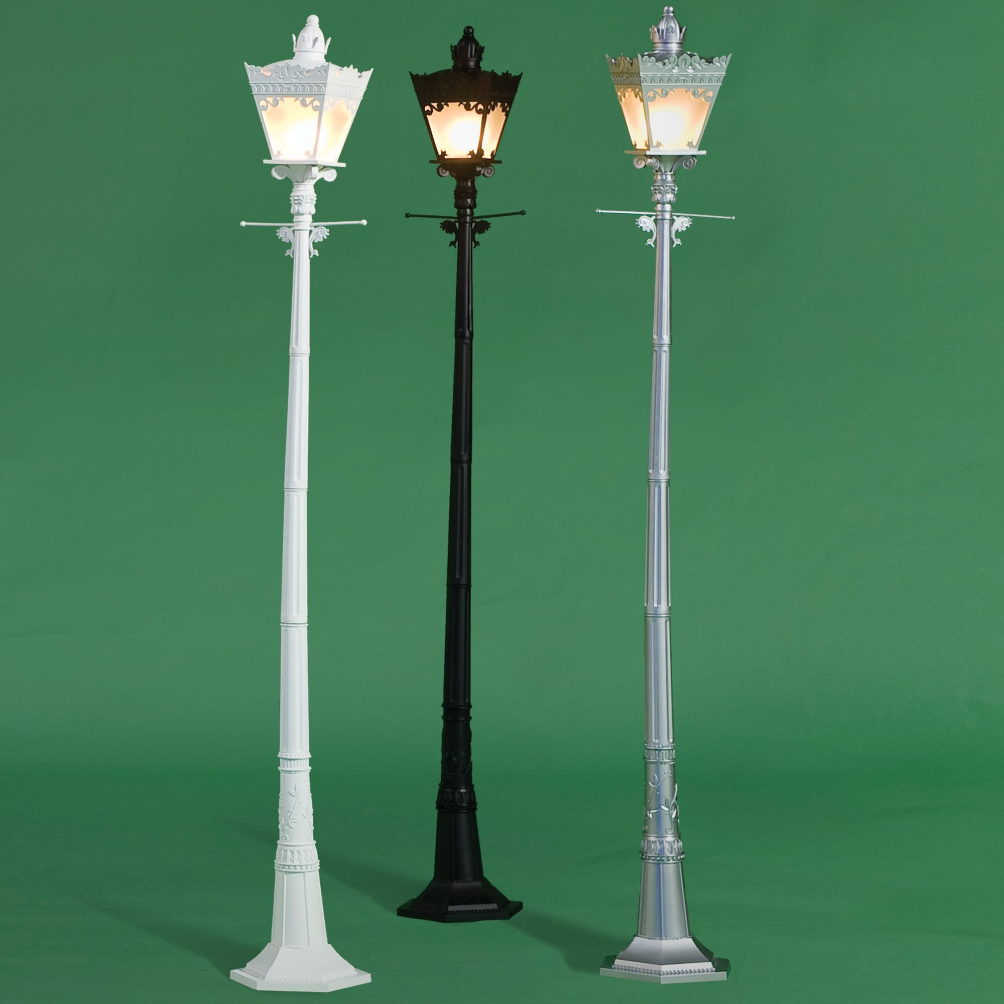 Decorative City Street Light Lamp Post Lights Street Lamp Victorian Outdoor Lighting
