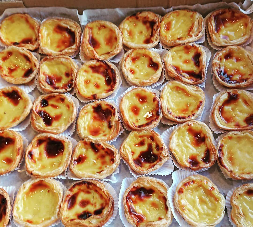 Custard tarts in Rio 🤤🤤🤤