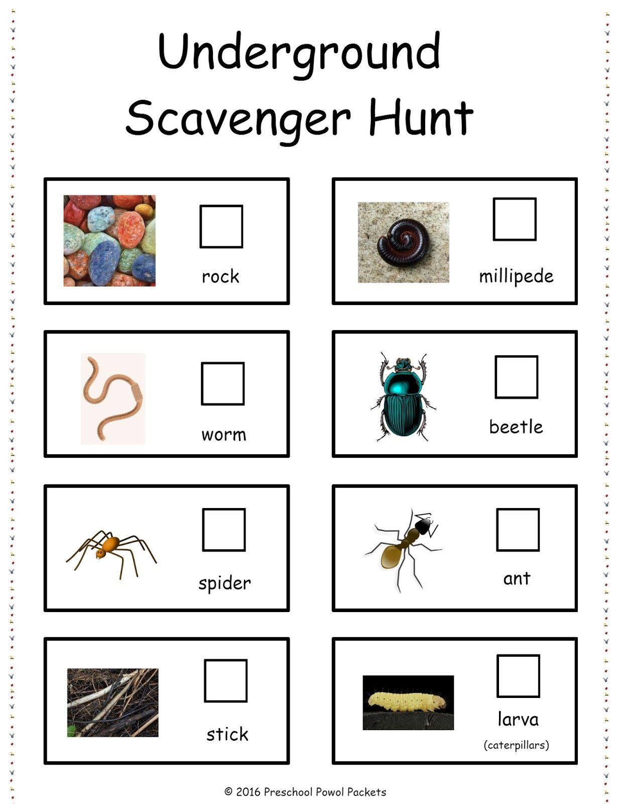 U Is For Free Underground Scavenger Hunt