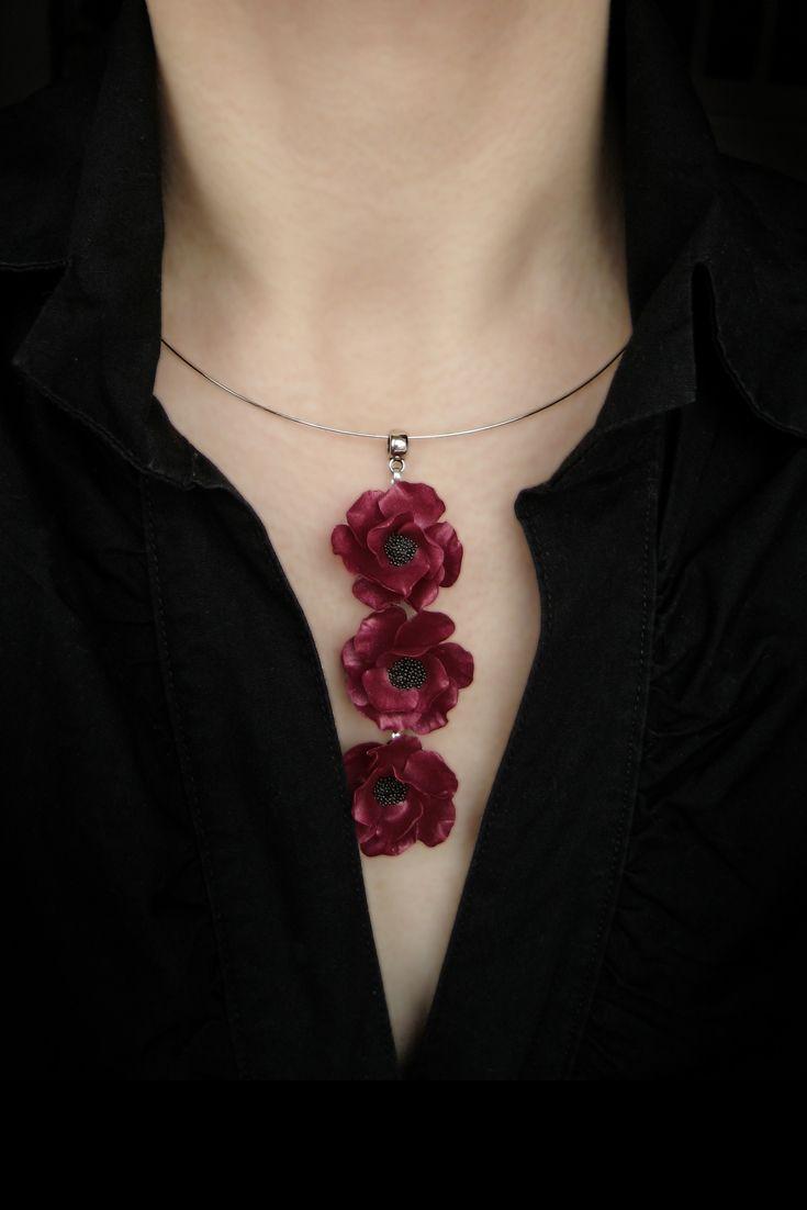 Red Jewelry Set Bohemian Jewelry Set Stone Jewelry Set Red Flower Jewelry Set Red Jade Jewelry Set Chandelier Jewelry Set Summer