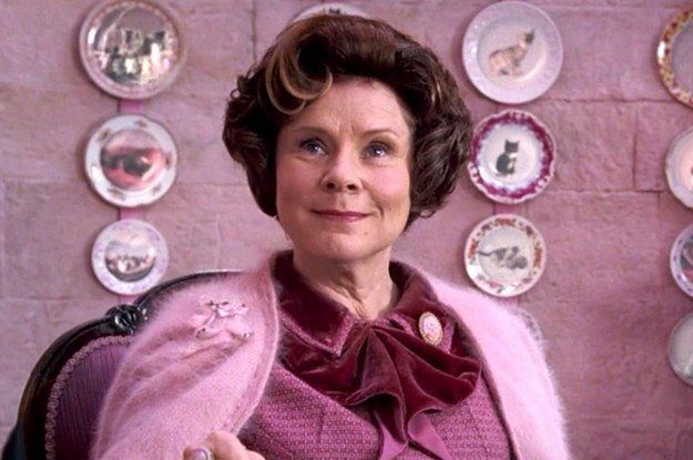 If 40 49 Of These Things Annoy You You Re Definitely A Harry Potter Fan Harry Potter Umbridge Harry Potter Characters Harry Potter Female Characters
