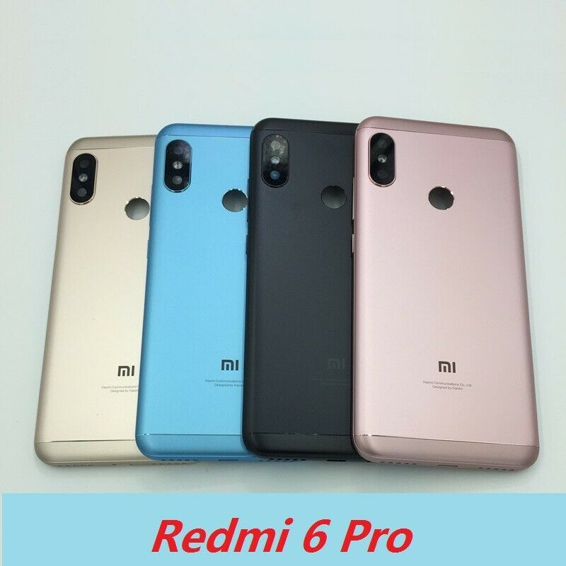 New Oem Housing Battery Back Cover Case For Mi Redmi 6 Pro Notice The Cover We Sold Without Fingerprint Flex On It 4 6 Weeks In Remot Case Cover Case Xiaomi