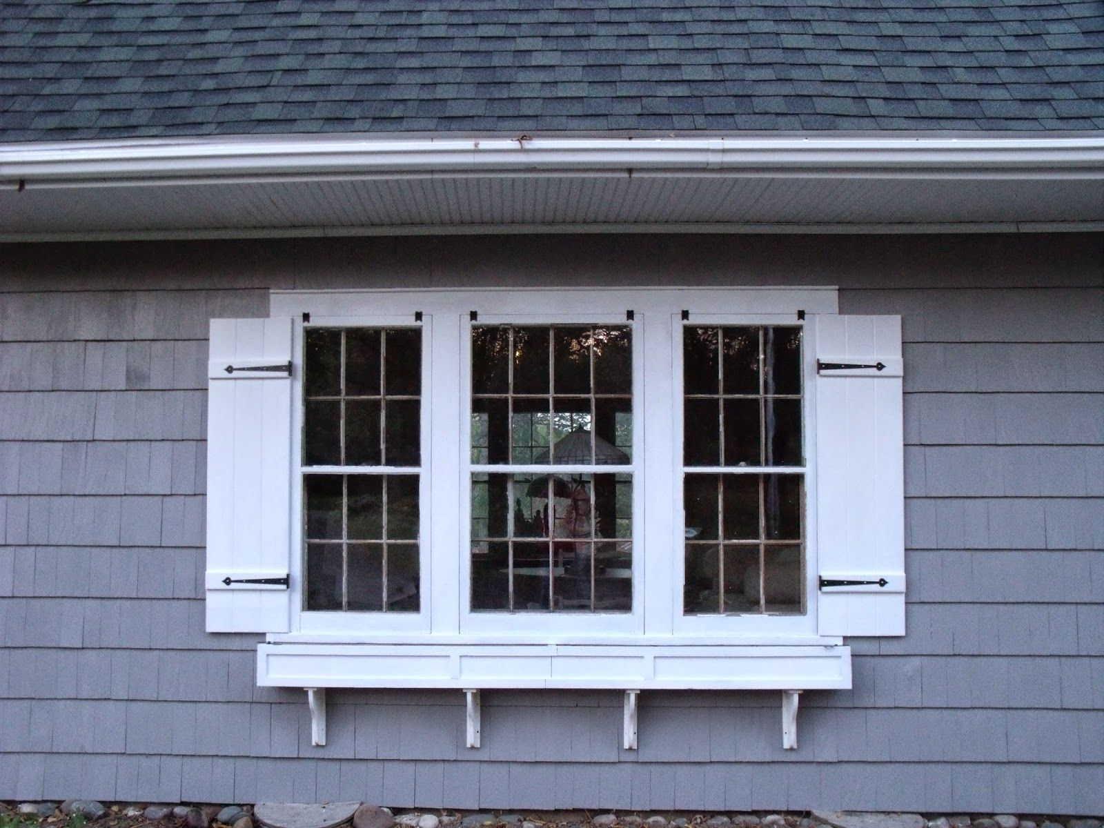 Board and Batten Shutters | Curb appeal and Window