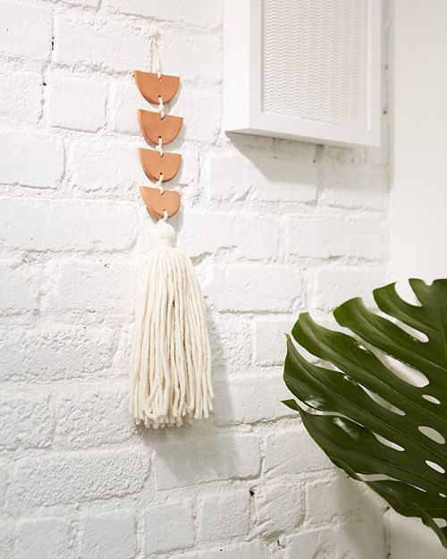 make this air dry clay wall hanging terracotta wall hangings and